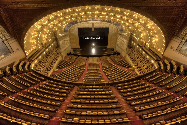 Front Elevation Design Website : Auditorium theatre chicago historic photography