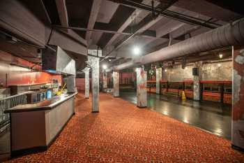 The Belasco, Los Angeles: Basement Bar underneath Auditorium