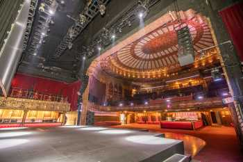 The Belasco, Los Angeles: Stage and Auditorium from Upstage Right