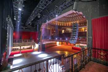 The Belasco, Los Angeles: Stage from VIP Balcony Stage Right