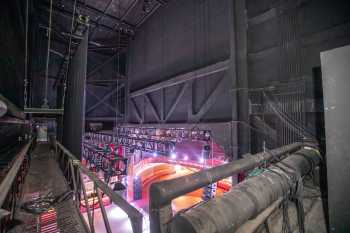The Belasco, Los Angeles: Stagehouse from Fly Floor Stage Right