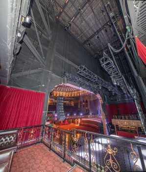 The Belasco, Los Angeles: VIP Balcony Backstage Stage Left