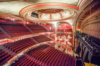 Upper Circle Slips view of Auditorium