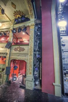 Theatre Royal, Bristol: House Left Boxes and Proscenium Arch