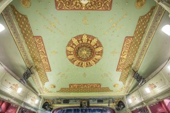 Theatre Royal, Bristol: Ceiling from Upper Circle front
