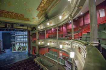 Theatre Royal, Bristol: Upper Circle center looking to right