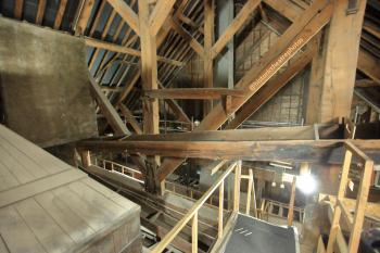 Theatre Royal, Bristol: Attic from rear looking to Stagehouse wall