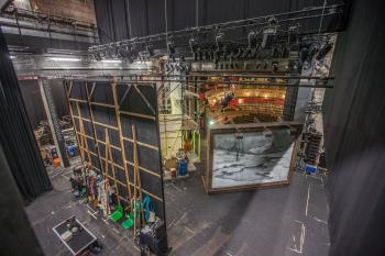 Theatre Royal, Bristol: View from ladder to Fly Floor