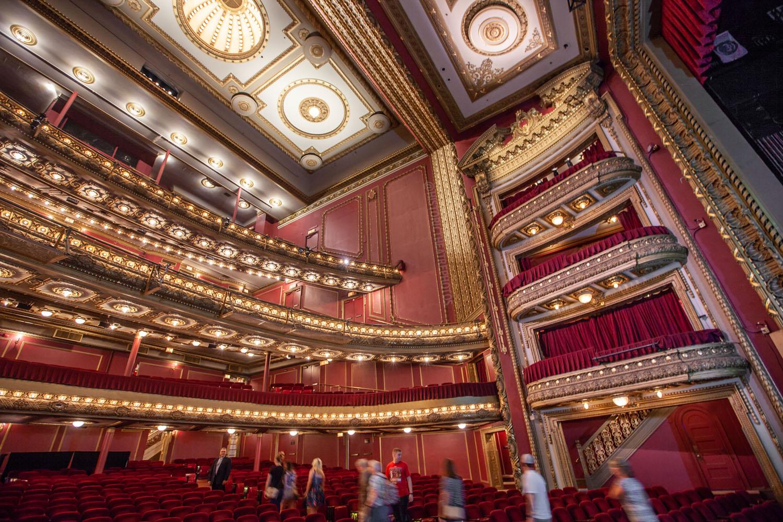 Privatebank Theatre Chicago Historic Theatre Photography