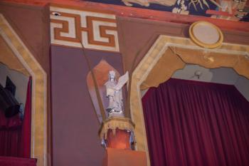 TCL Chinese Theatre, Hollywood: Auditorium rear wall detail