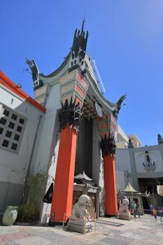 TCL Chinese Theatre, Hollywood: Entrance from left