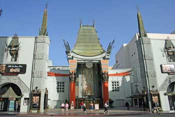 TCL Chinese Theatre, Hollywood: Exterior, November 2006