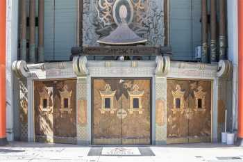 TCL Chinese Theatre, Hollywood: Entrance Doors Closeup