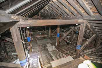 Citizens Theatre, Glasgow: Attic from House Rear Top