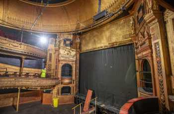 Citizens Theatre, Glasgow: Stage from Dress Circle Right Side