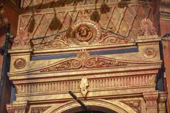 Citizens Theatre, Glasgow: Decoration above Dress Circle Box, House Right