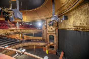 Citizens Theatre, Glasgow: Auditorium and Stage from Upper Circle Right