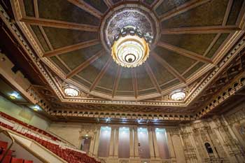 Copley Symphony Hall, San Diego: Ceiling From House Right