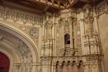 Copley Symphony Hall, San Diego: Organ Chambers And Balcony