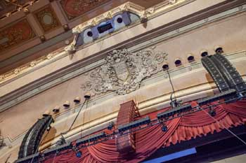 Copley Symphony Hall, San Diego: Proscenium Arch Center