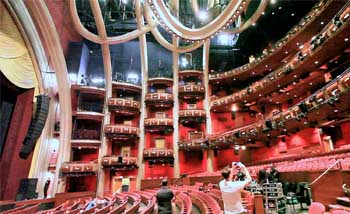 Dolby Theatre, Hollywood: House Right side from Orchestra