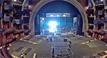 Dolby Theatre, Hollywood: Technical Fit-Up for the 2015 <i>AFI Life Achievement Award</i> from Balcony center