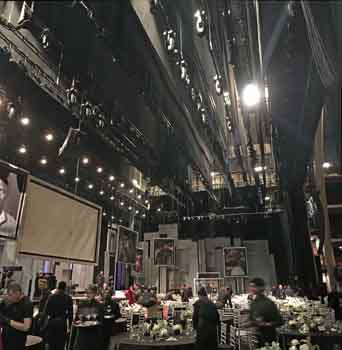 Dolby Theatre, Hollywood: Backstage at the <i>AFI Life Achievement Award 2019</i>