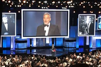 Dolby Theatre, Hollywood: AFI Life Achievement Award 2018 (George Clooney)