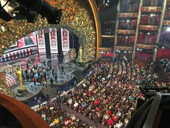 Dolby Theatre, Hollywood: After The Oscars 2018 Postshow
