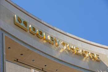 Dolby Theatre, Hollywood: Dolby Theatre Name Closeup