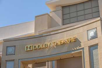 Dolby Theatre, Hollywood: Closeup Above Entrance