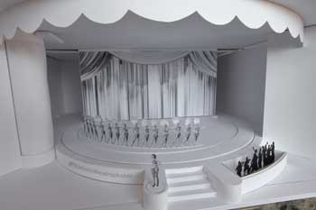 Theatre model from House Left