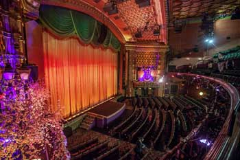 "The El Capitan's ""East-Indian"" themed auditorium was designed by G. Albert Lansburgh"