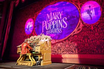 El Capitan Theatre, Hollywood: Organ Pre-show for Mary Poppins Returns