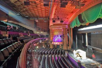 El Capitan Theatre, Hollywood: View across Auditorium from House Right