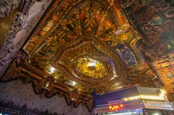 El Capitan Theatre, Hollywood: Exterior/Ticket Lobby Ceiling