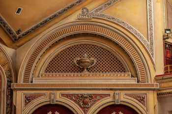 Festival Theatre, Edinburgh: Tympanum Above House Right Boxes