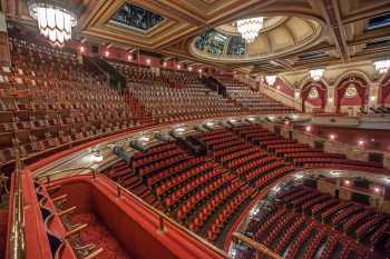 Festival Theatre, Edinburgh: House Right Slips Looking To Upper Circle