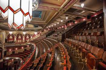 Festival Theatre, Edinburgh: Upper Circle From House Left