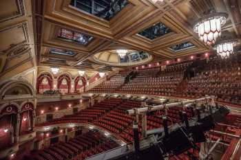Festival Theatre, Edinburgh: Upper Circle From Lighting Position