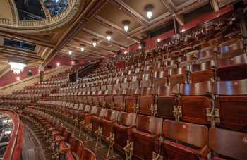 Festival Theatre, Edinburgh: Upper Circle Seating