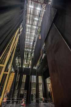 Festival Theatre, Edinburgh: Grid And Counterweight Wall From Stage Left