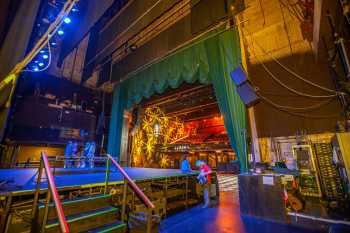 Fonda Theatre: Stage from Upstage Right