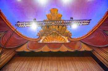Fox Theater Bakersfield: Proscenium Centerpiece From Below