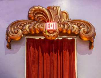 Fox Theater Bakersfield: Exit Detail