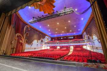 Fox Theater Bakersfield: Auditorium From Stage Right