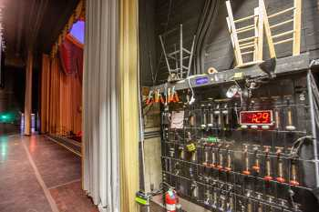 Fox Theater Bakersfield: Switchboard Stage Right