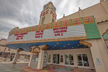 Fox Theater Bakersfield: Box Office And Marquee