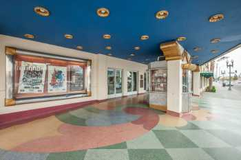 Fox Theater Bakersfield: Box Office On Terrazzo