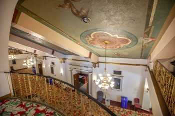 Fox Theater Bakersfield: Lobby Ceiling From Mezzanine